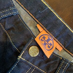 Tory Burch cropped slim jean